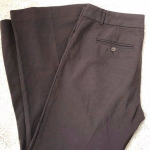 Moda International brown dress pants size 8